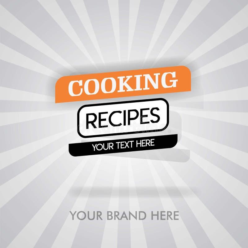 Cocinar cina masakan del untuk de las recetas meksiko makanan del untuk del resep cocinar la cubierta para el libro de cocina pue ilustración del vector