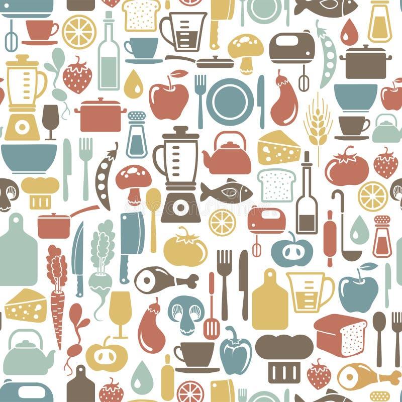Cocinar el fondo libre illustration
