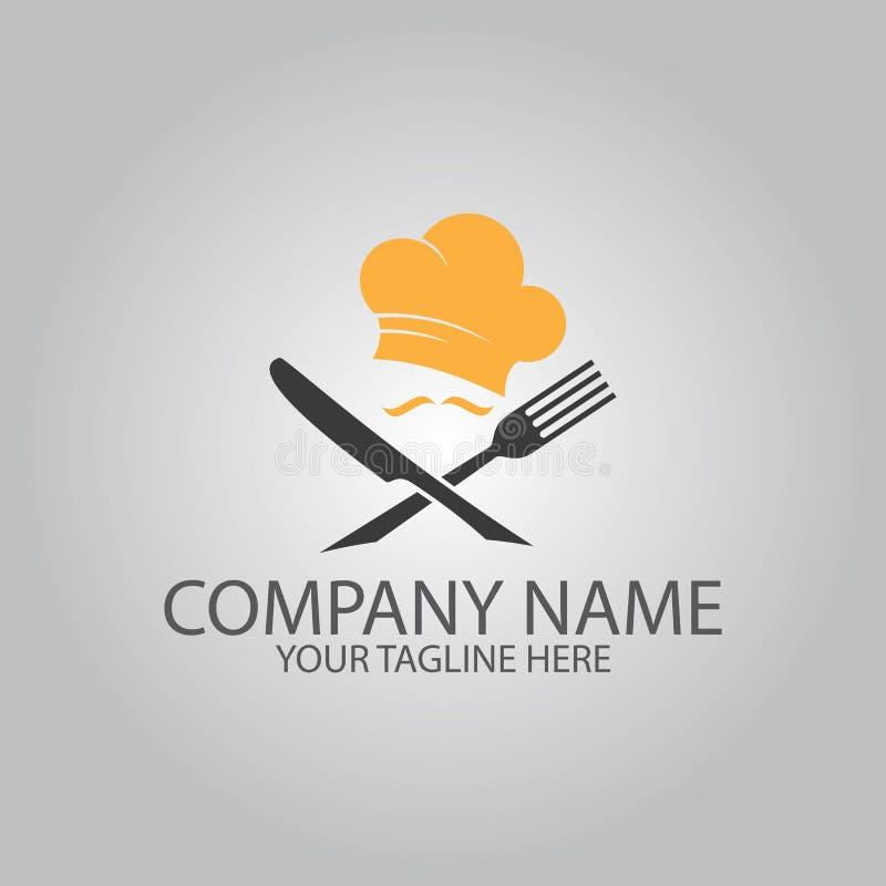 Cocinar el logotipo del símbolo libre illustration