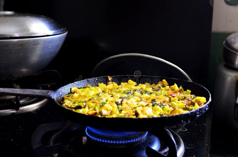 Cocinar verduras amarillas foto de archivo