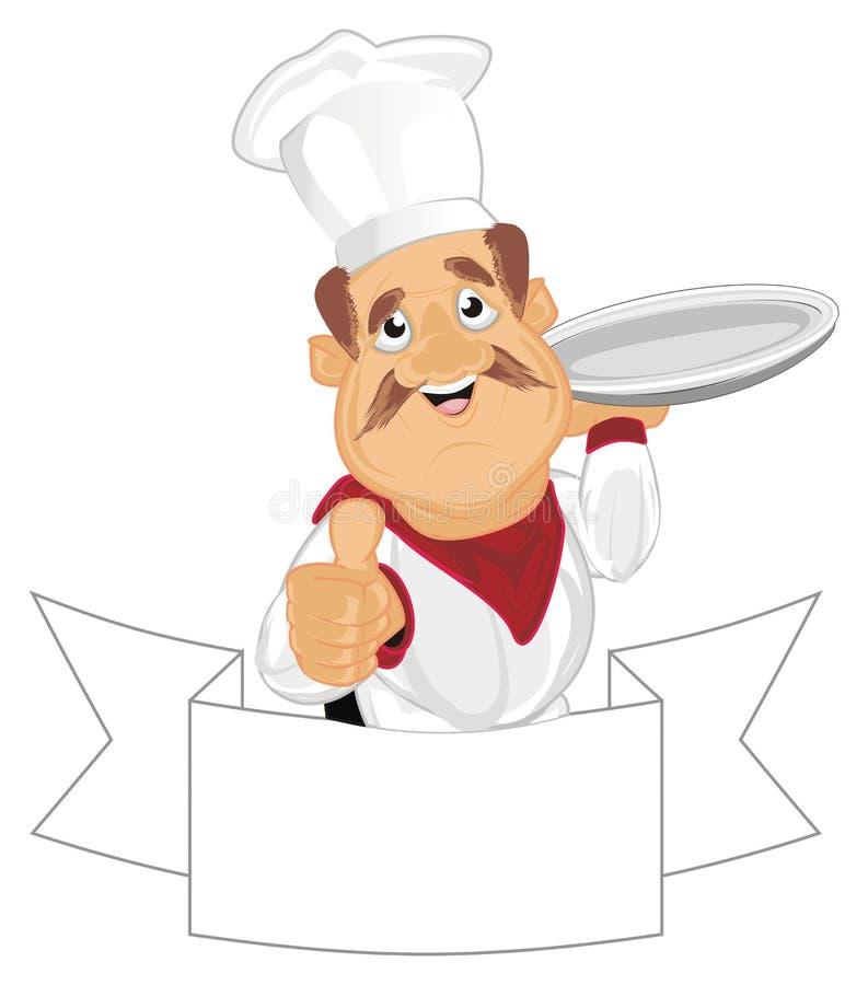 Cocine y cinta limpia libre illustration