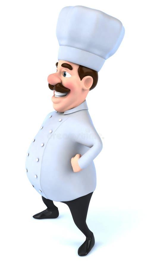 Download Cocinero stock de ilustración. Ilustración de cocinero - 7282677