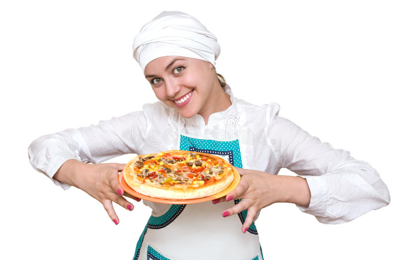 Cocinero atractivo