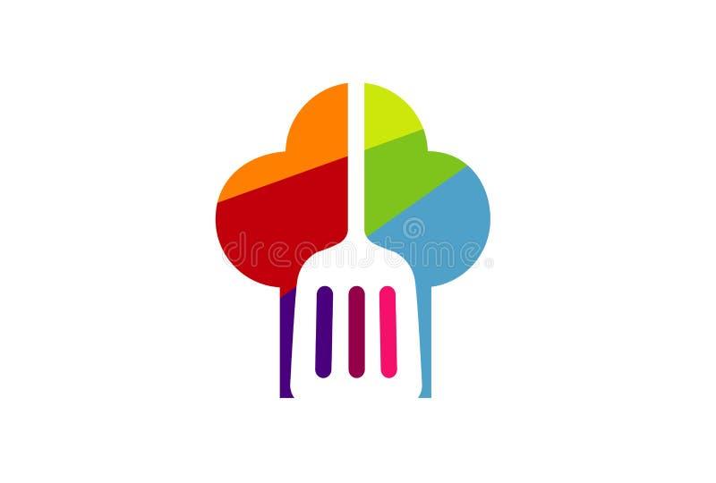 Cocinero Banking Logo Design Illustration libre illustration