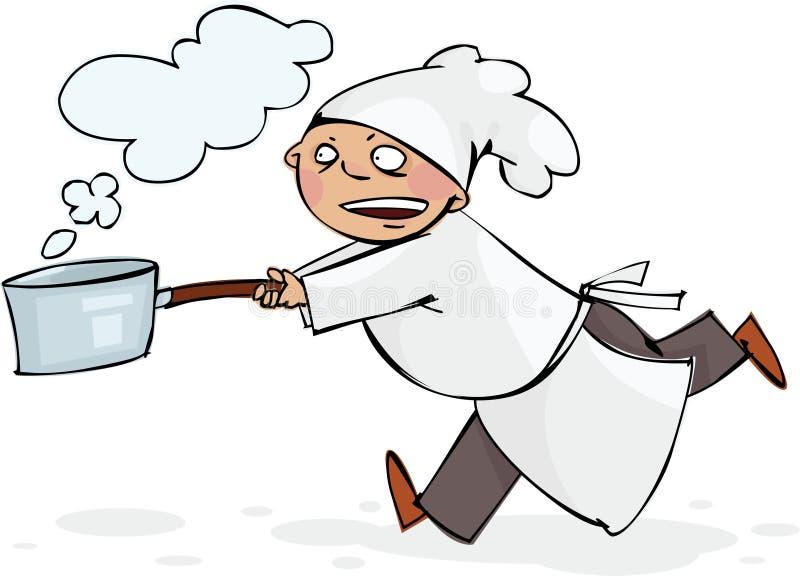 Cocinero Corriente Fotografía de archivo libre de regalías