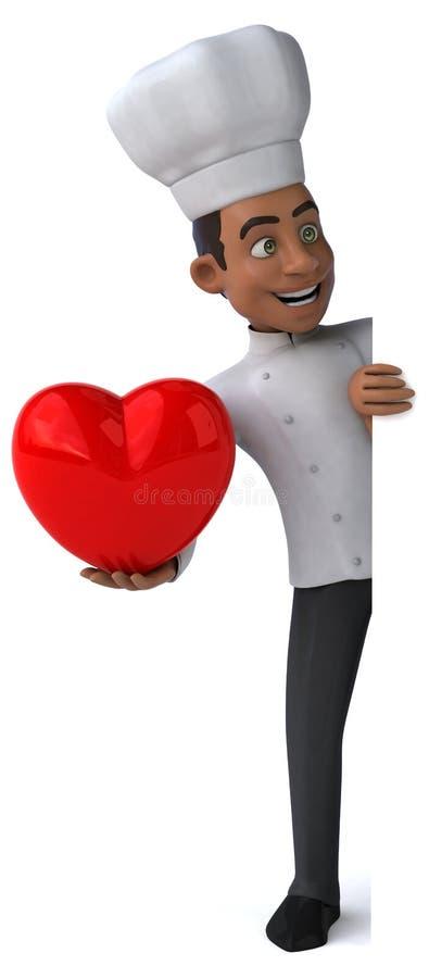 Cocinero de la diversión libre illustration