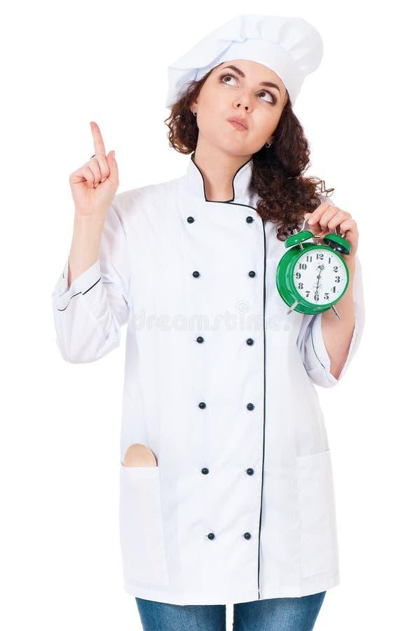 Cocinero de la mujer imagen de archivo libre de regalías