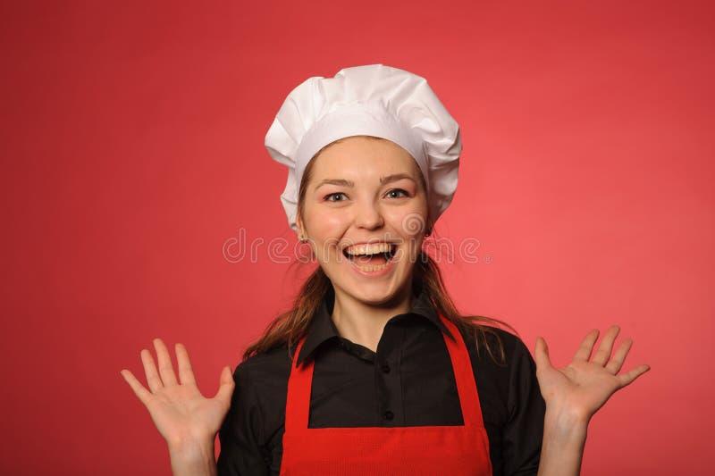 Cocinero de los jóvenes de la belleza imágenes de archivo libres de regalías