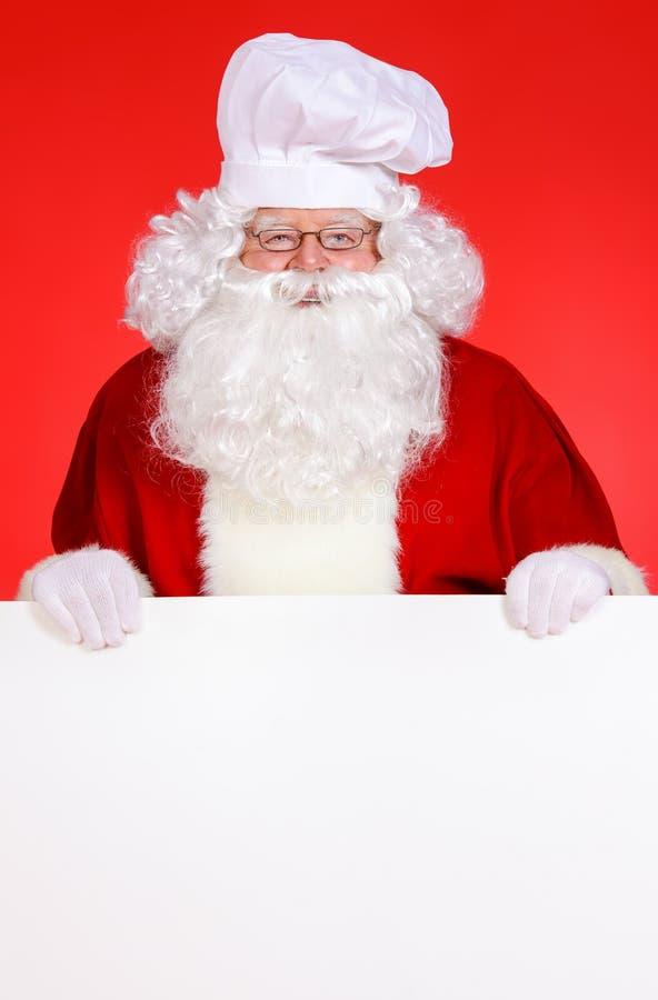 Cocinero de Papá Noel imagen de archivo