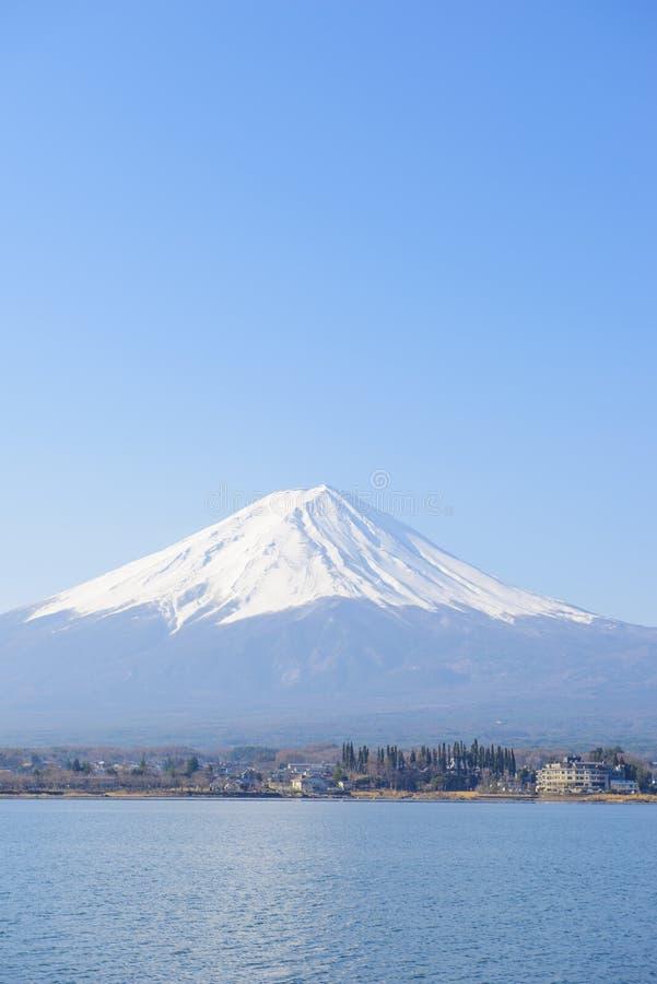 Cocinero hermoso del Mt fuji imagen de archivo libre de regalías