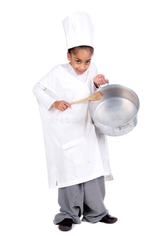 Cocinero joven foto de archivo libre de regalías