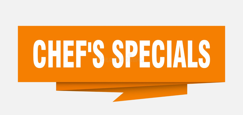 cocinero \ 'specials de s stock de ilustración