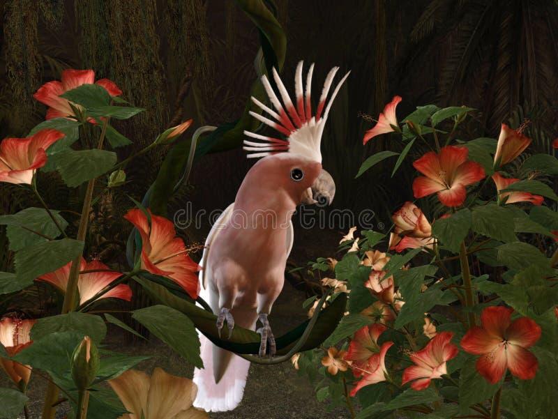 Cockatoo do Inca ilustração royalty free