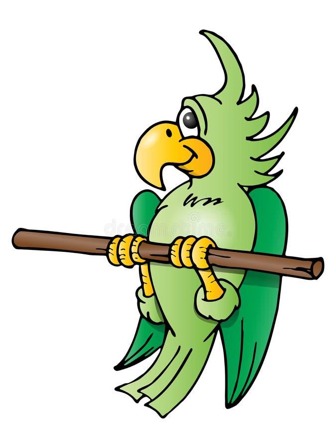 Cockatoo verde libre illustration