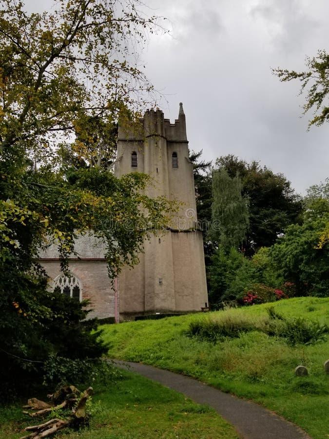 Cockington, Inghilterra fotografie stock libere da diritti