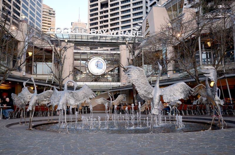 Cockle Bay Wharf Sydney Australia stock photography