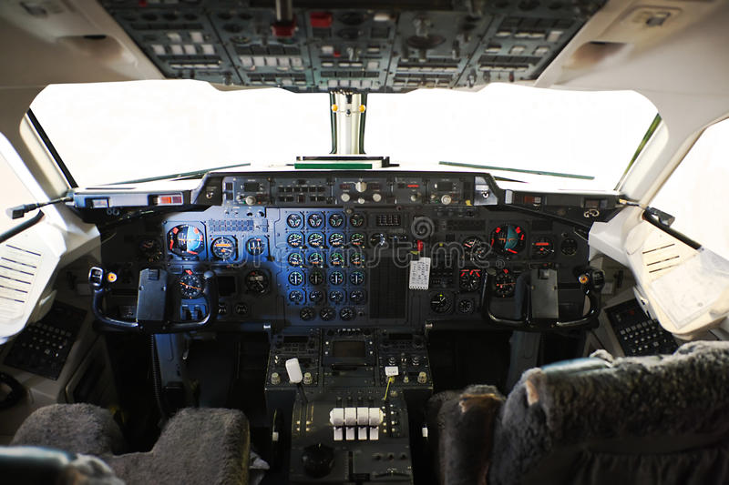 Cockpit royalty free stock photography