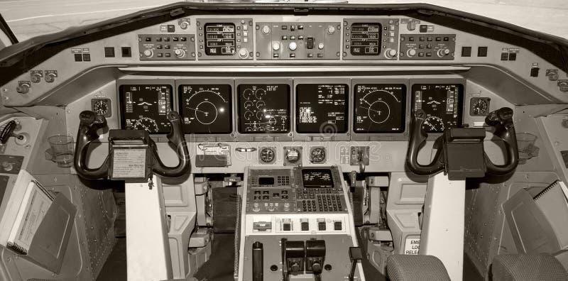 Cockpit. royalty-vrije stock fotografie