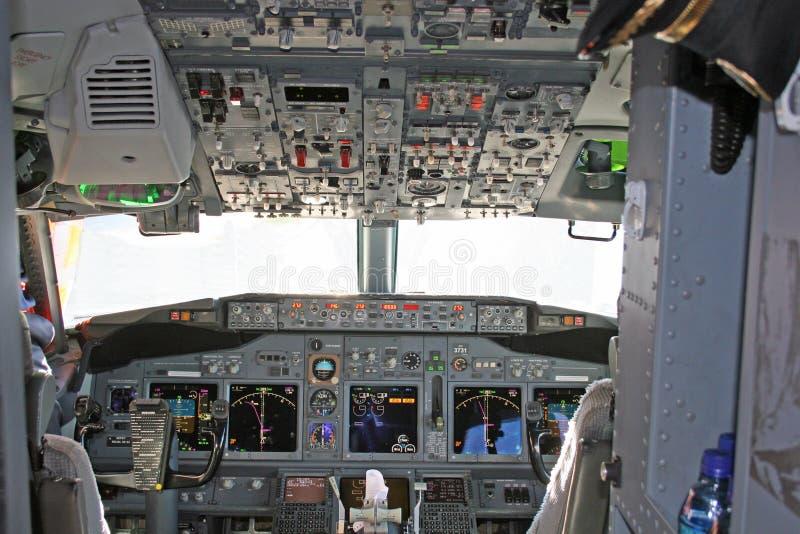 Cockpit 2 lizenzfreies stockbild