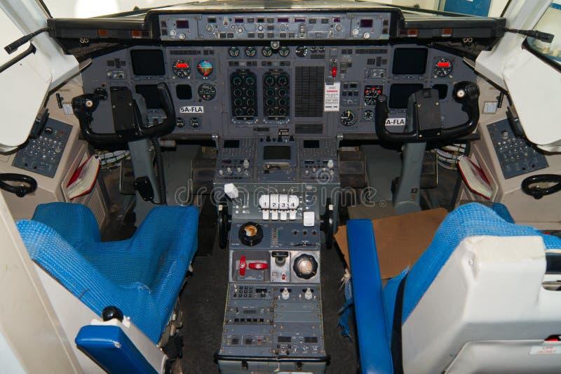 cockpit royalty-vrije stock afbeelding