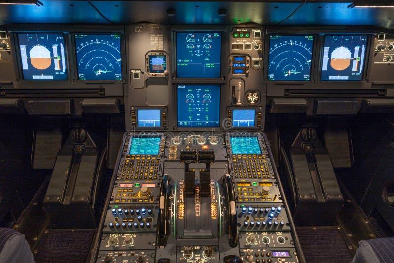 cockpit immagine stock