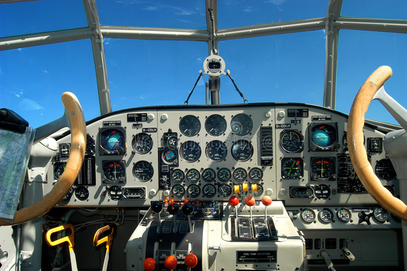Download Cockpit stock photo. Image of instruments, cockpit, column - 5723840