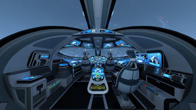 cockpit ilustração stock
