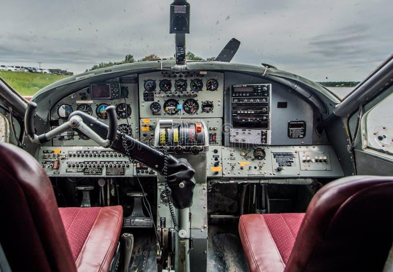 cockpit fotografie stock