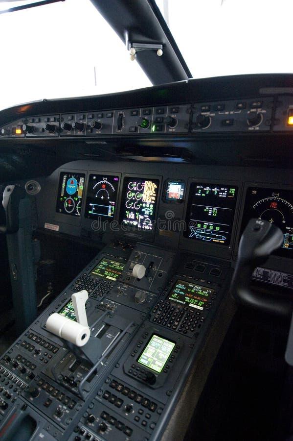 cockpit fotografia stock libera da diritti