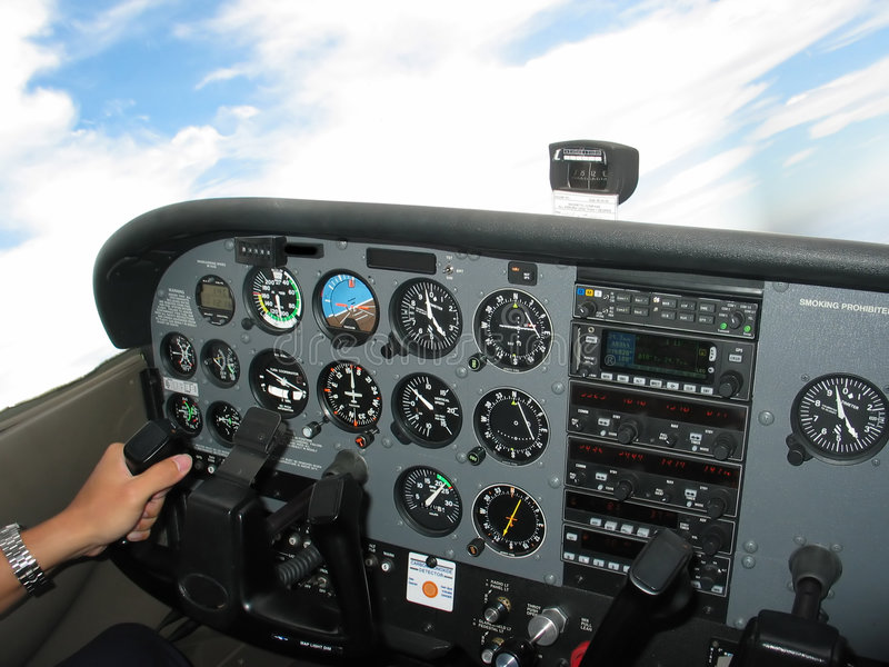 Cockpit Control stock photos