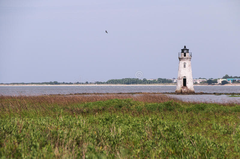 Cockspur Island Lighthouse royalty free stock images