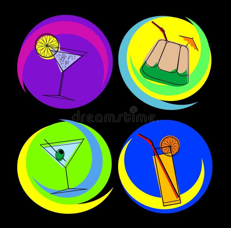 Cocktail 02 ilustração royalty free
