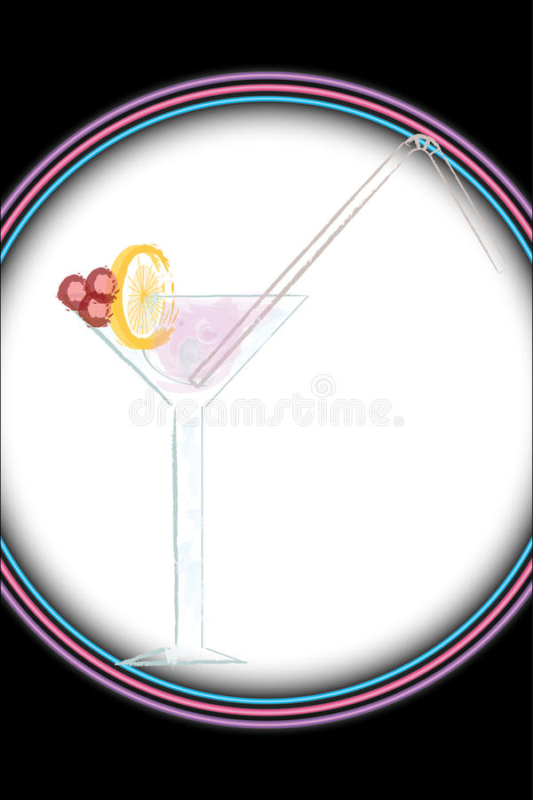 Download Cocktail stock vector. Illustration of martini, cocktail - 10228895