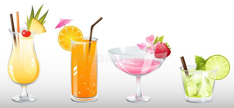 Cocktail ilustração stock