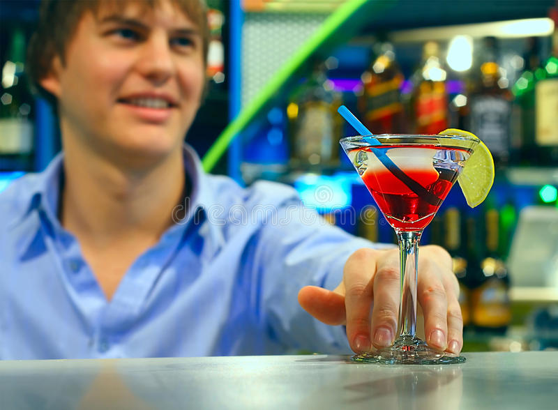 Download Cocktail stock photo. Image of bartender, glass, background - 12395890