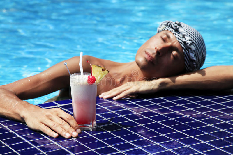 Download Cocktail stock image. Image of clean, beauty, pool, hair - 19291581