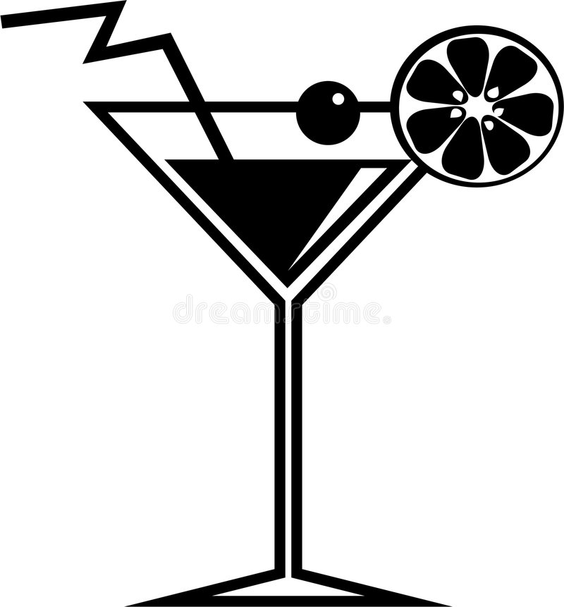 Cocktail vektor abbildung