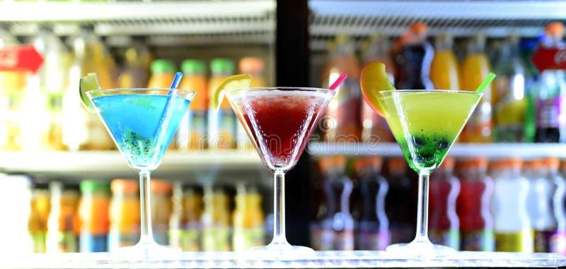 3 cocktail immagine stock libera da diritti