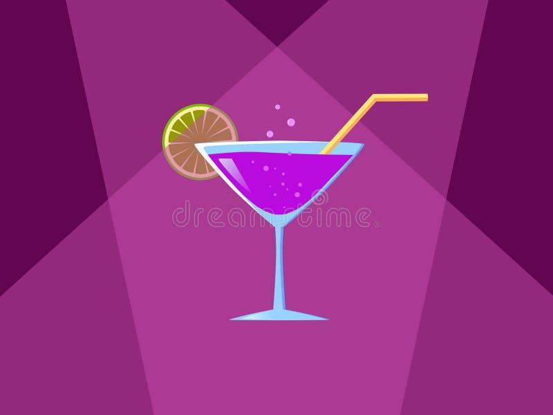 cocktail royalty-vrije illustratie