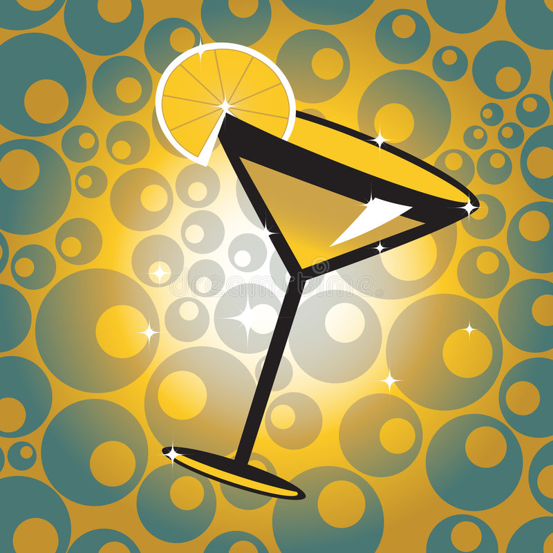 Cocktail royalty free illustration