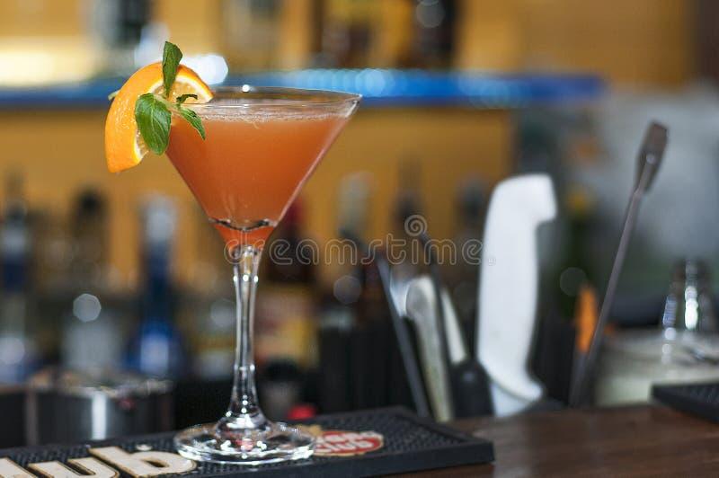 Cocktail alaranjado foto de stock