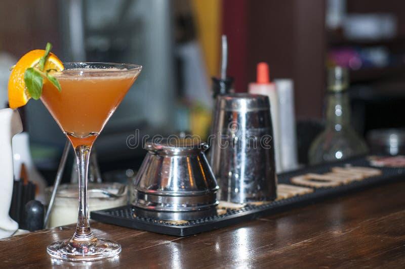 Cocktail alaranjado fotos de stock