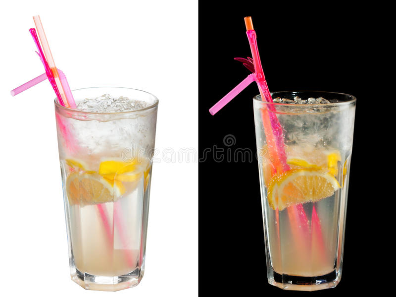 Cocktail alcoolique froid