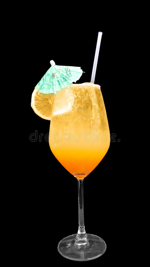 Cocktail amarelo fotos de stock