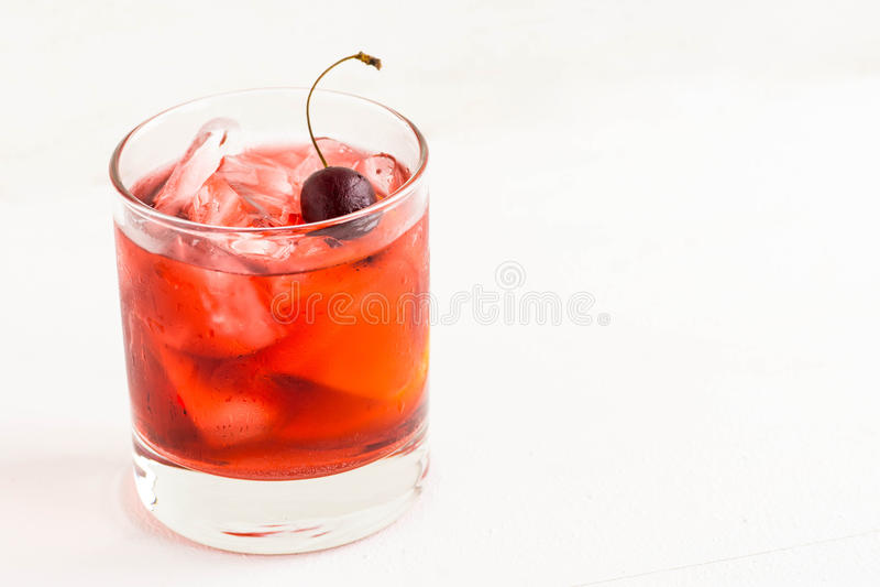 Cocktail antiquado foto de stock