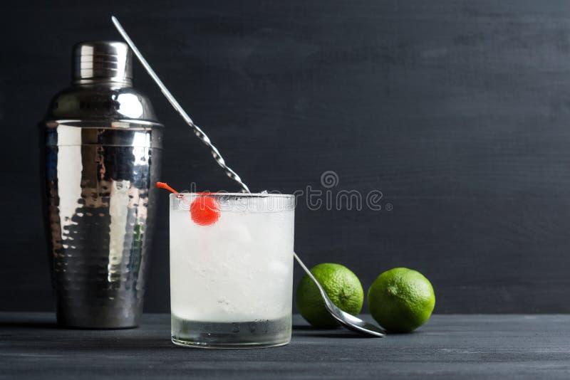 Cocktail antiquato fotografia stock libera da diritti