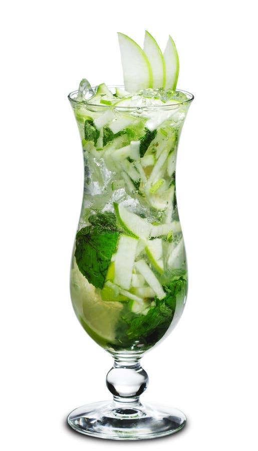 Cocktail - Appel Mojito stock afbeeldingen
