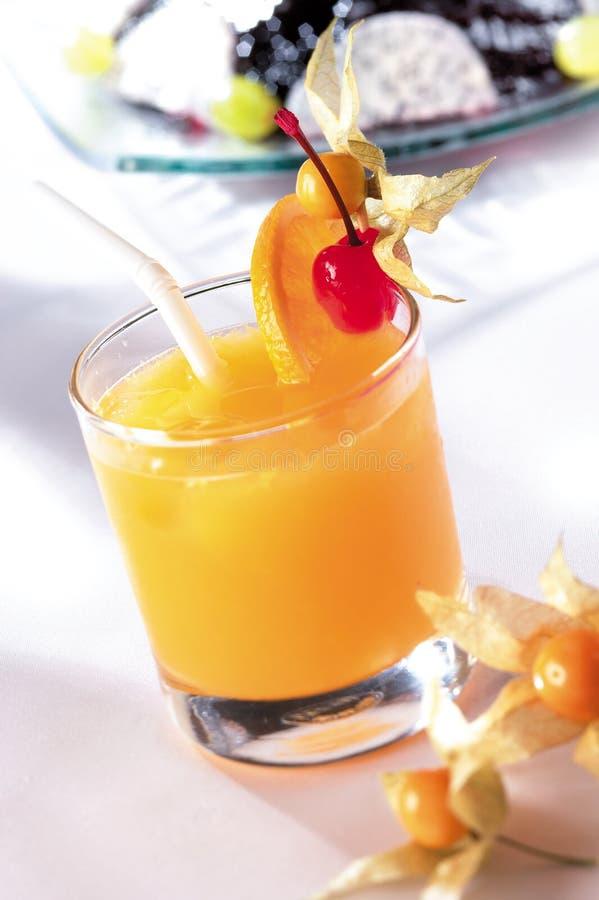 Cocktail arancione immagini stock libere da diritti