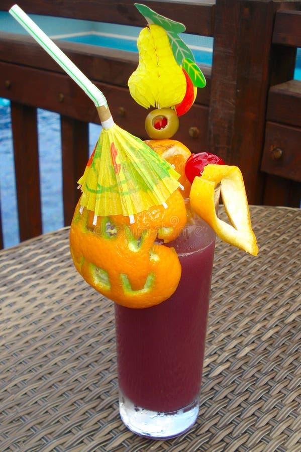Cocktail avec l'orange photos libres de droits