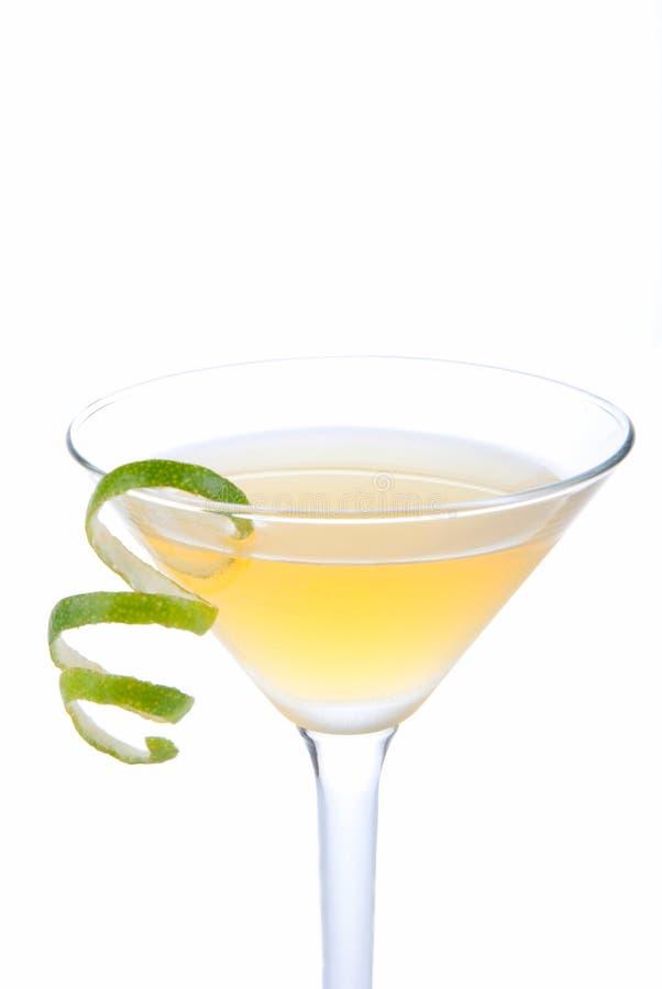 Cocktail azzurrato del Martini fotografie stock libere da diritti